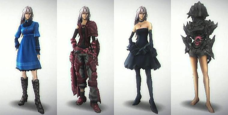 Last Story Armors
