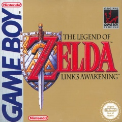 Legend of Zelda Links Awakening Cover