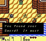 Legend of Zelda Links Awakening Sword get