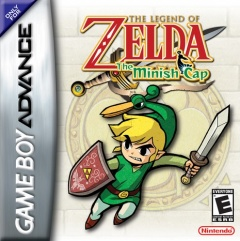 Legend of Zelda Minish cap Cover