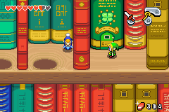 Legend of Zelda Minish cap Mini Link Library Books