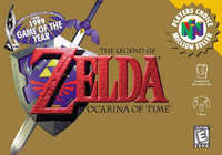 Legend of Zelda: Ocarina of Time cover