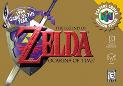 Legend of Zelda Ocarina of Time Cover
