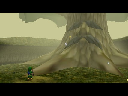 Legend Of Zelda Ocarina Of Time Link Great Deku Tree