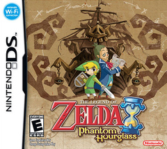 The Legend of Zelda: Phantom Hourglass Cover