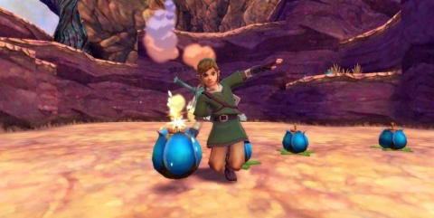 Legend of Zelda Skyward Sword Bombs