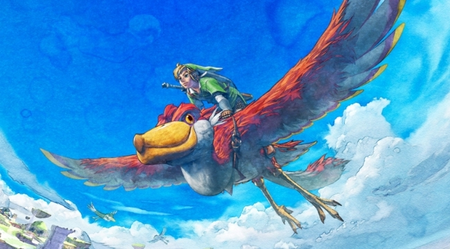 Legend of Zelda Skyward Sword Loftwing