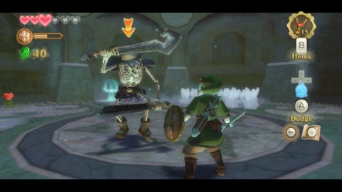 Legend of Zelda Skyward Sword Skeleton