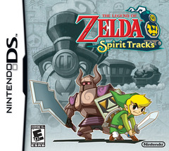 Legend Of Zelda Spirit Tracks Cover