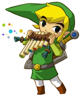 Legend of Zelda Spirit Tracks Link Spirit Flute