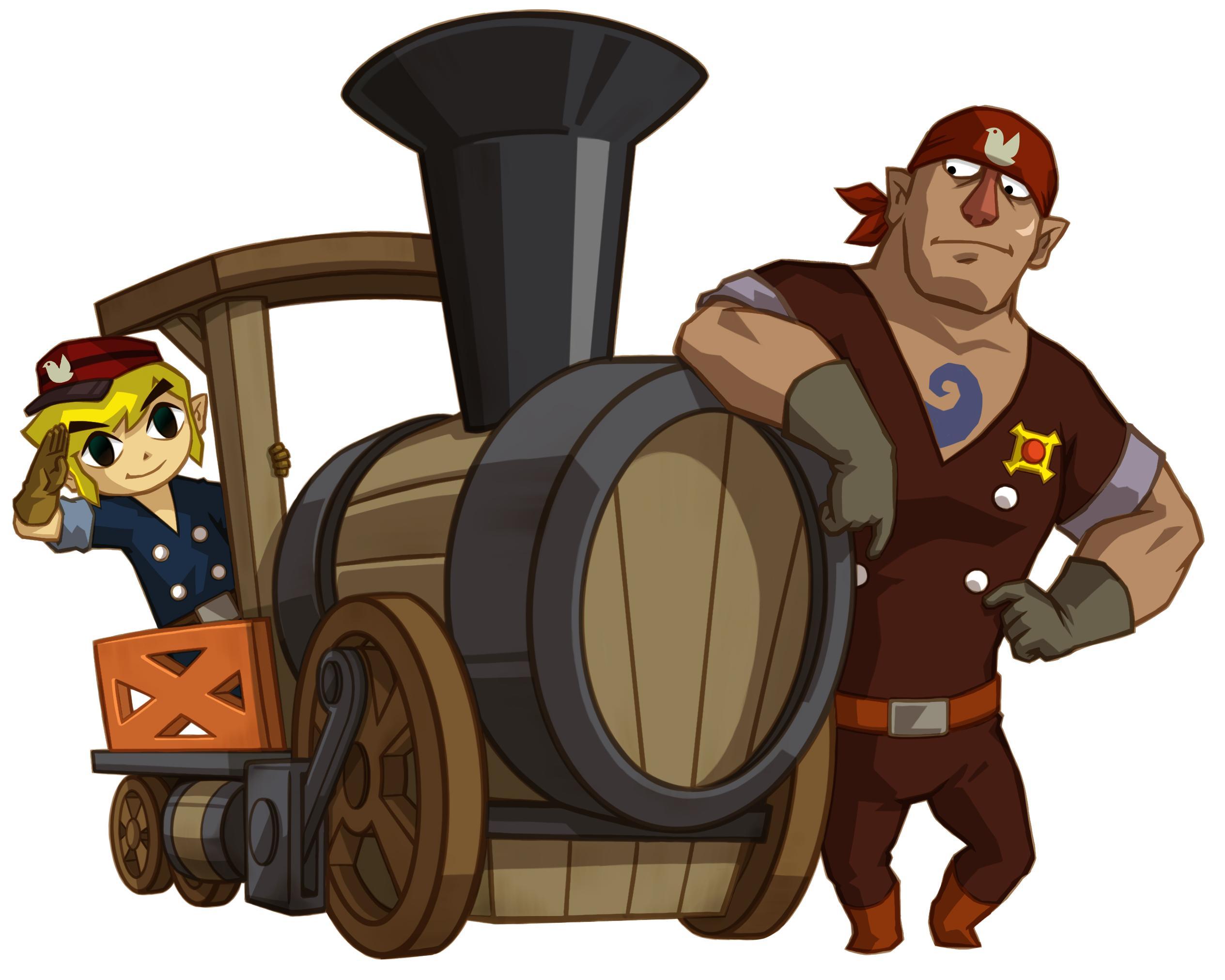 Saga Super Smash Bros. - Página 4 Legend-of-zelda-spirit-tracks-link-train