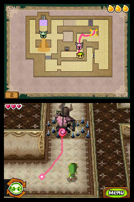 Legend Of Zelda Spirit Tracks Phantom Zelda Path