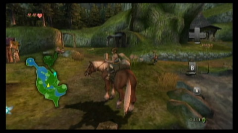 Legend of Zelda Link Riding Epona