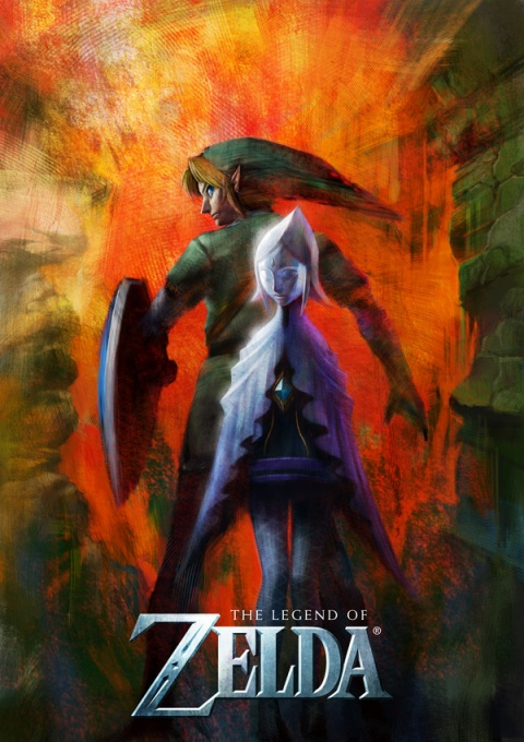 Legend of Zelda Mysterious wii art