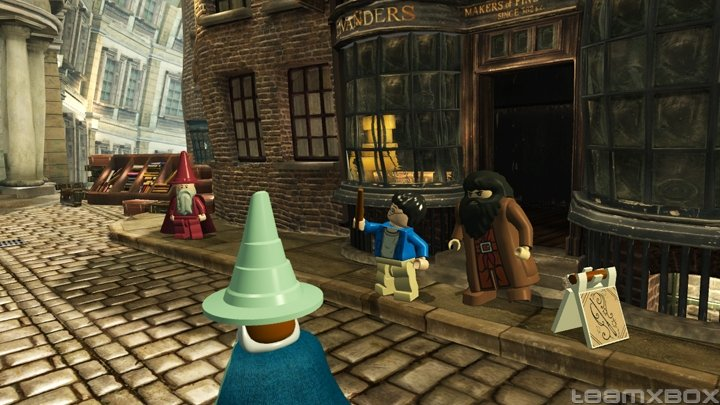 Lego Harry Potter Years 1 4 Hagrid Diagon Alley