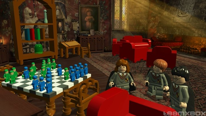 Lego Harry Potter Years 1 4 ron Hermione Chess