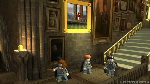 Lego Harry Potter Years 1 4 ron Hermione Hogwarts