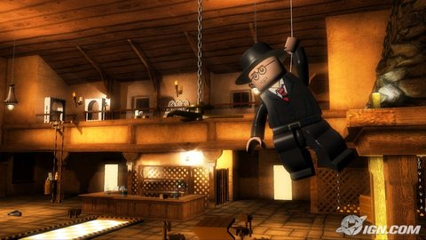 Lego Indiana Jones Major Toht Marion Bar