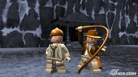 Lego Indiana Jones Marion Whip