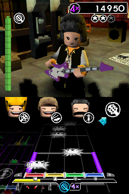 Lego Rock Band ds Guitar