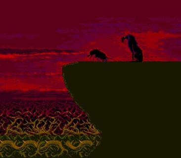 The Lion King Scar Hyena Red Sky Cutscene