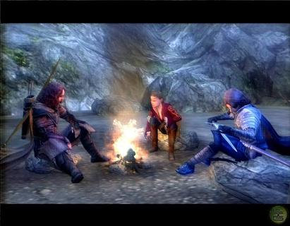 Lord Of The Rings Third Age Campfire