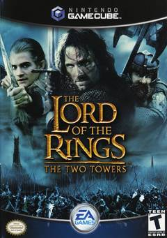 Lord Of The Rings Two Towers Cover