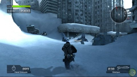 Lost Planet Snowy City