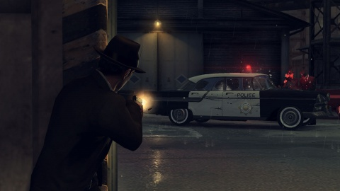 Mafia 2 Vito Shoot up Police car