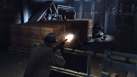 Mafia 2 Vito Tommy gun Whiskey