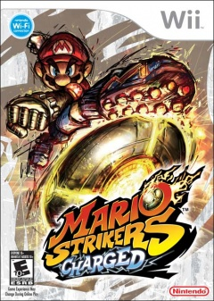 Mario Strikers Charged Cover