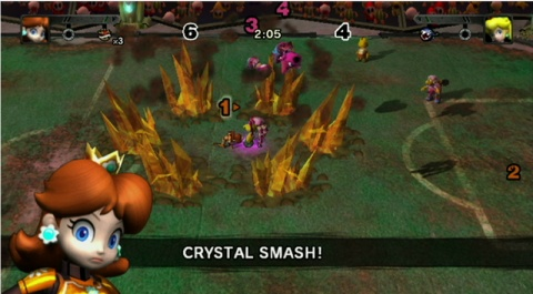 Mario Strikers Charged Crystal Smash