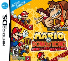 Mario vs Donkey Kong Mini Land Mayhem Cover