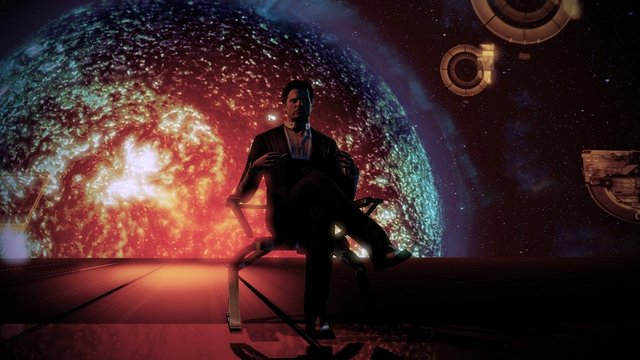 Mass Effect 2 Illusive Man Martin Sheen