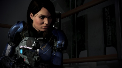 Mass Effect 3 Ashley Williams gun
