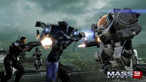 Mass Effect 3 From Ashes Cerberus Atlas Mech