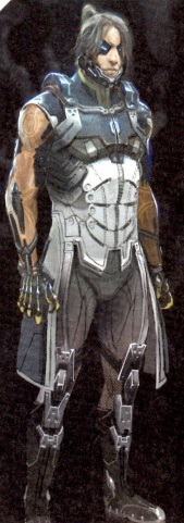Mass Effect 3 James Sanders Scan