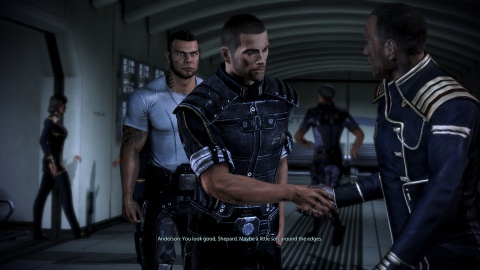 Mass Effect 3 Shepard Anderson James Vega