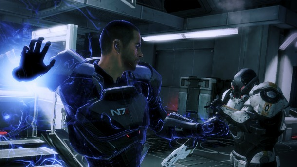 Mass Effect 3 Shepard Cerberus Biotic Powers