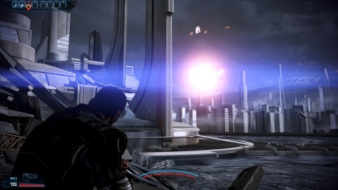 Mass Effect 3 Shepard Earth Reaper Dreadnought