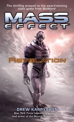 Mass Effect Revelation Cover