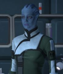 Mass Effect Liara