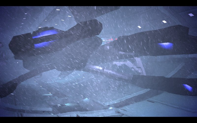 Mass Effect Normandy Noveria Blizzard Docking