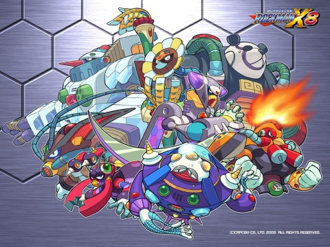 Mega man x8 Bosses