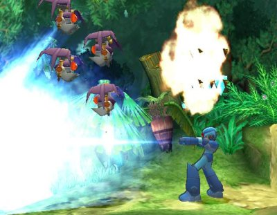 Mega man x8 Jungle