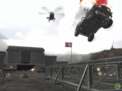Mercenaries Car Jump