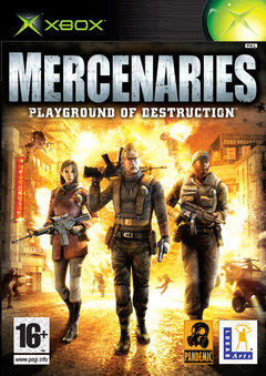 Mercenaries: Playground of Destruction Cover