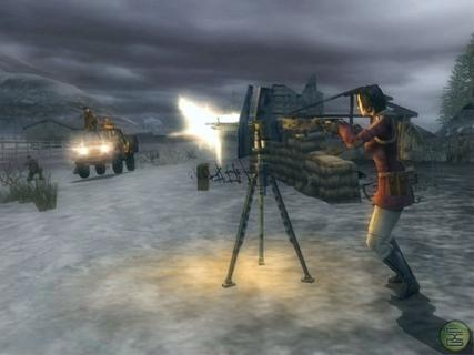 Mercenaries Jennifer Mui Stationary Gun