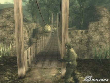 Metal Gear Solid 3 Bridge