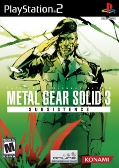 Metal Gear Solid 3: Snake Eater Cover